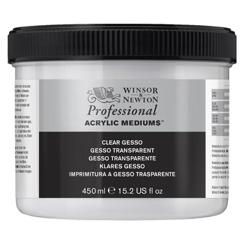 Clear Gesso 474ml