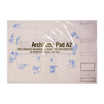 Uno Architects Technical Paper A2 Pad