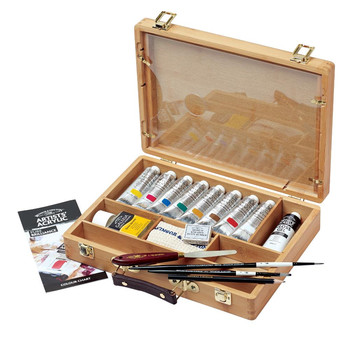 Artists' Acrylic Bamboo gift Box