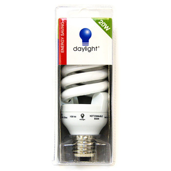Daylight Energy Saving Bulb 20W Screw Cap