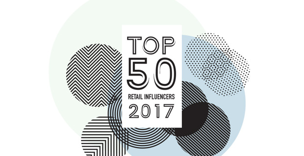 Top 50 Retail Influencers for 2017