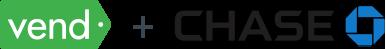 Vend plus Chase logos