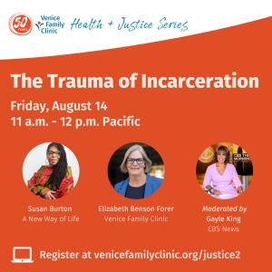 Event details: The Trauma of Incarceration