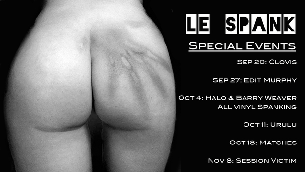 Le_spank_special_events