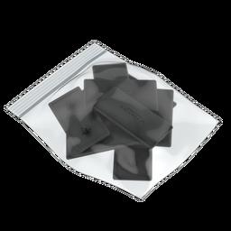 45x90mm Plastic End Cap (Bag of 10)