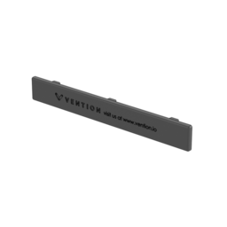 180 x 22.5mm Plastic End Cap, For Table Top Extrusion