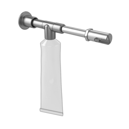 Compact Grease Gun with Right Angle Connection