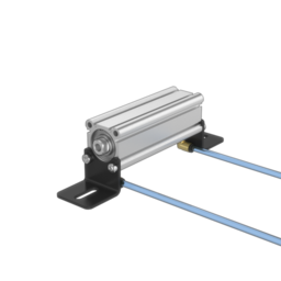 Compact Double-Acting Pneumatic Actuator, 100mm Stroke