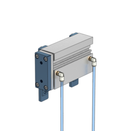 Guided Double-Acting Pneumatic Actuator, 100mm Stroke