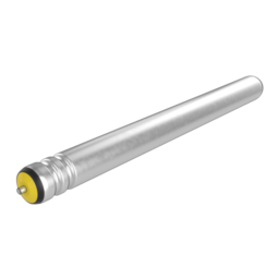 Grooved Rollers for Belt-driven Conveyors, 585mm