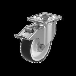 Premium Swivel Caster Wheel with Brake, 350kg Capacity