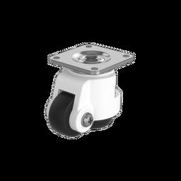 Premium Swivel Leveling Caster Wheel with Adjustment Wheel, 500kg Capacity