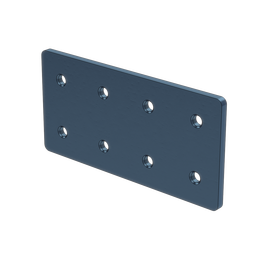 2x4 Hole Aluminum Assembly Plate