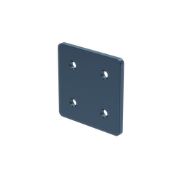 2x2 Hole Aluminum Assembly Plate