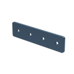 1x4 Hole Aluminum Assembly Plate