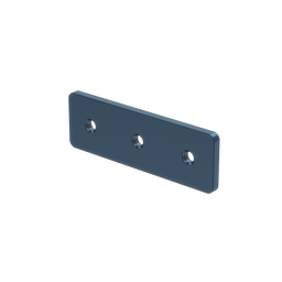 1x3 Hole Aluminum Assembly Plate