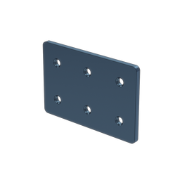 2x3 Hole Aluminum Assembly Plate