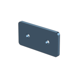 1x2 Hole Aluminum Assembly Plate