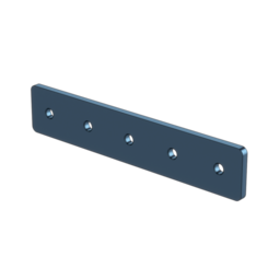 1x5 Hole Aluminum Assembly Plate