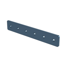 1x6 Hole Aluminum Assembly Plate