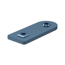 1X2 Hole Angle Assembly Plate, with Locators
