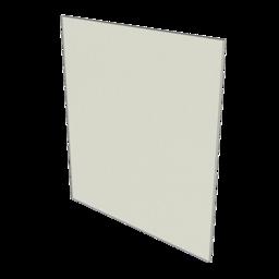 HDPE Panel, White 1/4'' [6.35mm]