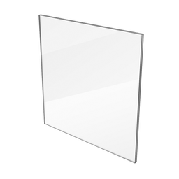 Clear Polycarbonate Panel, 6.35mm Thick