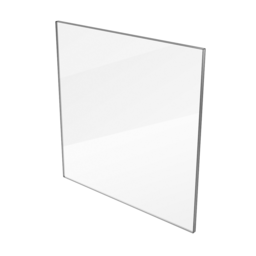 Polycarbonate Panel, Clear 1/4'' [6.35mm]