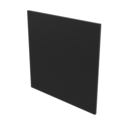 Acrylic Panel, Black 1/4'' [6.35mm]