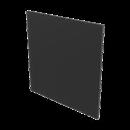 HDPE Panel, Black 3/8'' [9.5mm]