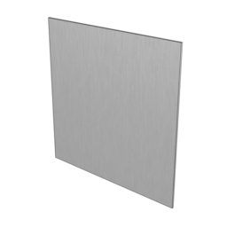 5052-H32 Brushed Aluminum Plate, 1/4'' [6.35mm]