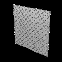 3003-H22 Aluminum Diamond Plate, 1/8'' [3.18mm]
