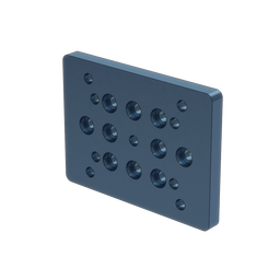 135x100mm Aluminum Mounting Plate