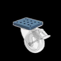 Premium Caster Wheel Mounting Plate