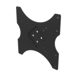 Small Display Mounting Plate, 75mm to 200mm VESA