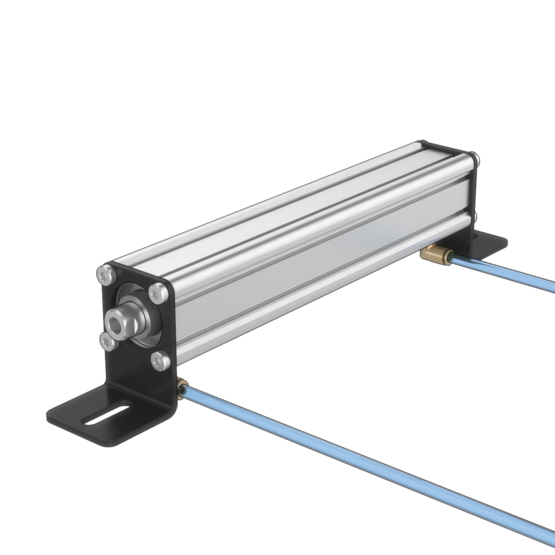 Compact Double-Acting Pneumatic Actuator, 200mm Stroke