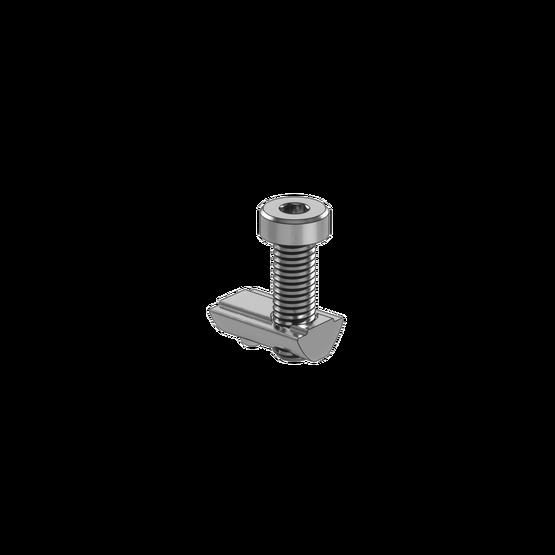 M8 x 25mm Screw With T-Nut