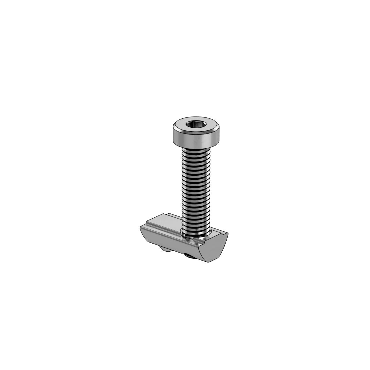 M8 x 35mm Screw With T-Nut