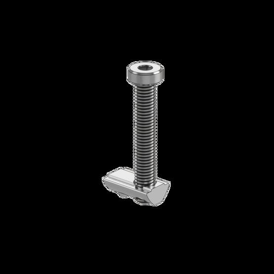 M8 x 50mm Screw With T-Nut
