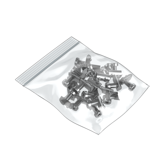M8 x 20mm Screw with T-Nut (Bag of 25)