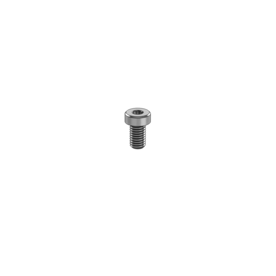 M4-0.7 x 6mm Low-Profile Socket Head Screw