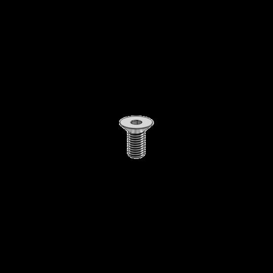 M8 1.25 x 18mm Flat Head Screw
