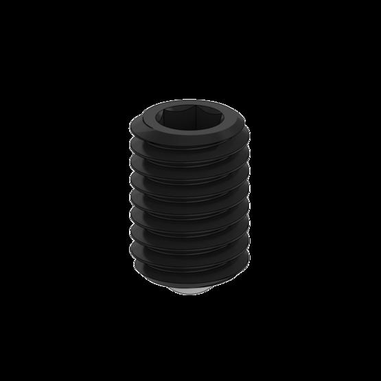 M5-0.8 x 8mm Ball Point Set Screw