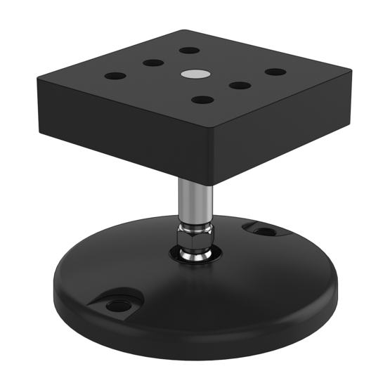 M14 x 66mm Leveling Foot, with 120mm Diameter Base