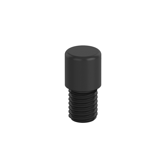 Threaded Pin, 10mm OD and 10mm Height