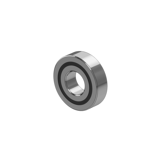 Double Sealed Roller Bearing, 12mm ID, 28mm OD, 8mm thick