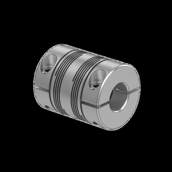 Aluminum Helical Flexible Shaft Coupling