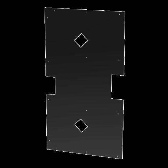 1395 mm Conveyor Turntable Underside Panel 1