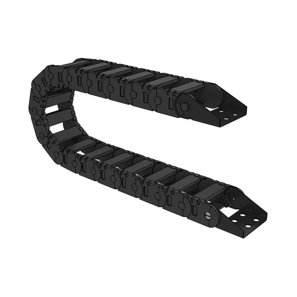 71mm Wide Cable Drag Chain (1886mm)