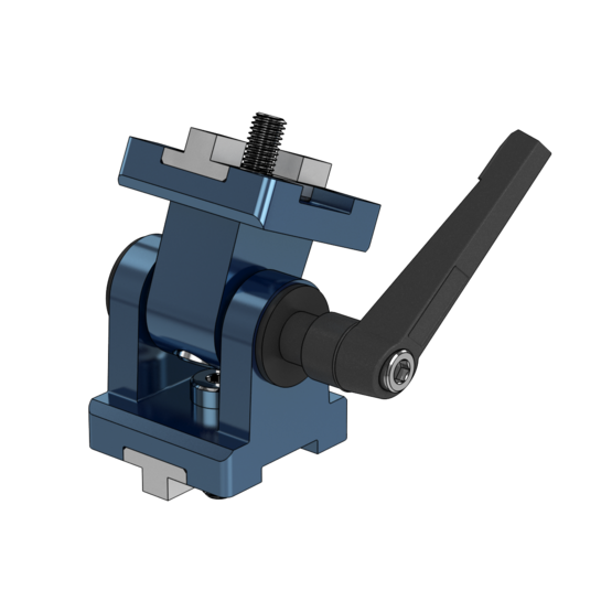 45x45mm Lockable Hinge, 12mm Pin with Bushings